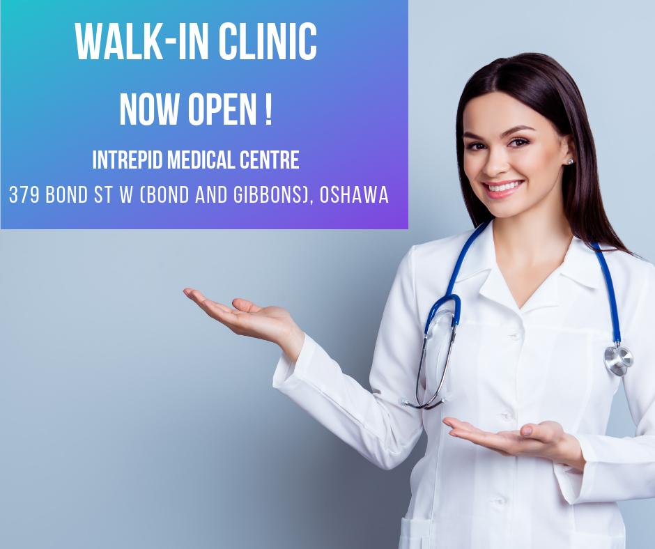 Walk-in clinic in Oshawa/Whitby